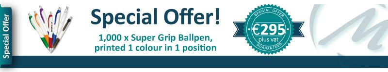 Super Grip Ballpen Special Offer